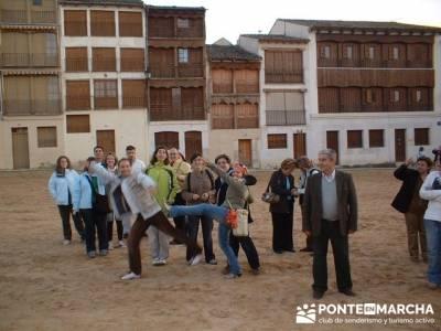 Plaza del Coso - Turismo Peñafiel; senderos de madrid; senderismo y excursiones
